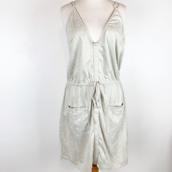 Sabo Skirt Dresses & Skirts - SABO FAUX SUEDE LIGHTWEIGHT STRAPPY DRESS SIZE LRG